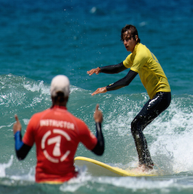 Surf Lesson in Fuerteventura
